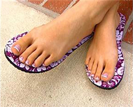 68fdf2269b5d8 The Original Topless Sticky Sandals are ideal as a beach shoe